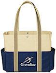 Tri Color Tote Bags